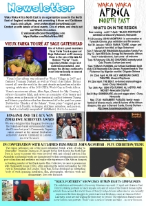 Newsletter Early 2016