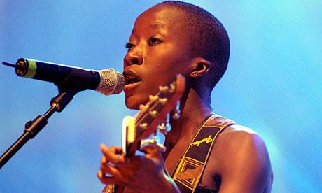 Malian singer Rokia Traoré