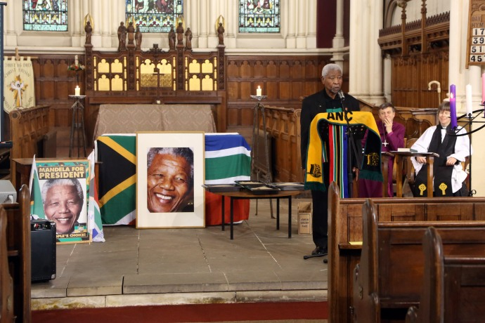 Photo from Nelson Mandela Celebration Event