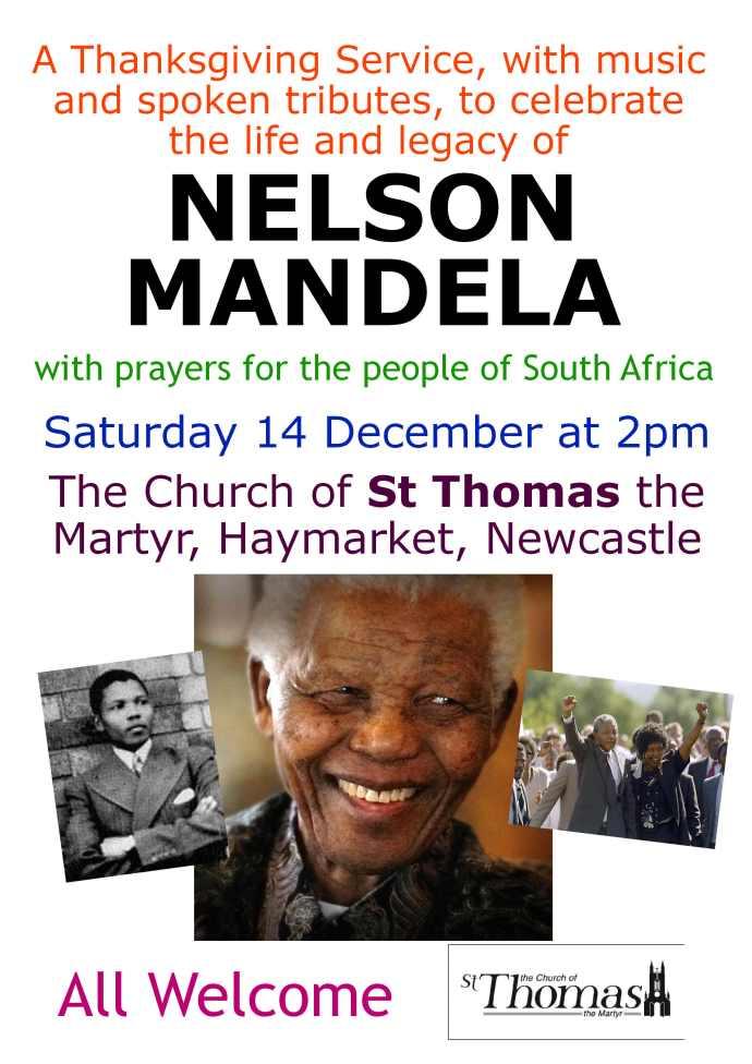Mandela Service 14 December