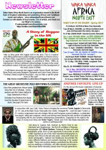 Waka Waka Africa NE News Spring 17